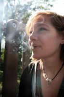 Sarah + Smoke by StolenSecrets