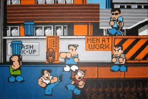River City Ransom Street Fight by Squarepainter