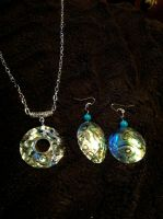 Mother of Pearl Jewelry set by MF99K