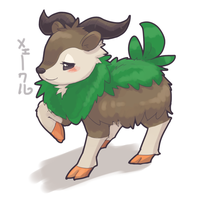 Skiddo by Apricolor