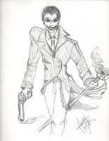 Joker Pencils by CJRogue