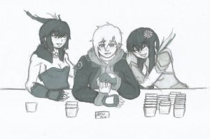 RWBY: Drinking buddies by Exvnir