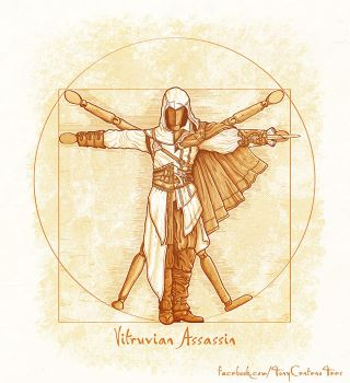Vitruvian-Assassins-by-Tony-Centeno by TonyCenteno