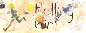 .:Rin Kagamine rolling girl id:. by LalaSweet98