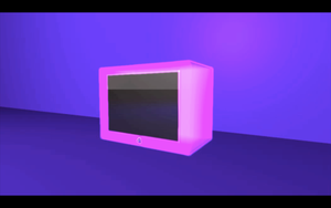 E4 Glowing TV by Sam-Hawes-Design