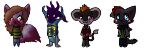 Armonia:: Chibi Parade! Batch 1 by Joltimeon