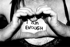 i am ENOUGH: Strenght. by ArtNoobly