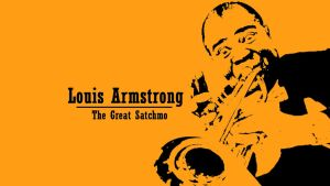 Louis Armstrong Wallpaper by JachoVH