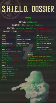 Winter Soldier - SHIELD Dossier by The-Solar-Surfer