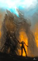 The guardian Colossus by Shiro169