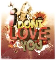 I Dont Love You by jeckham