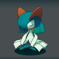 Mira the Kirlia by ImpishFoxling