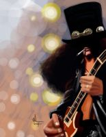 Slash. Digital caricature. by WALHH
