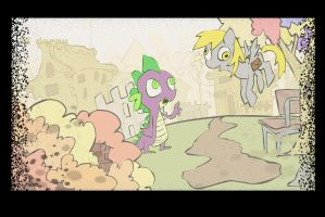 spike n derpy 2 by LenToTo