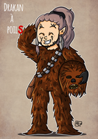 Chewie Drakan by ADeDessine