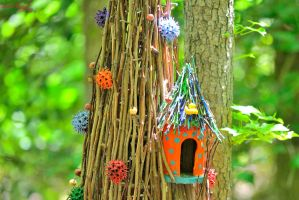 Fairy Tree House by sioranth