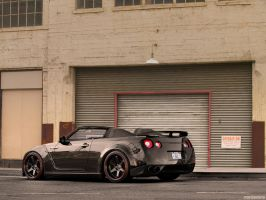 Nissan GT-R 35 roadster by degraafm