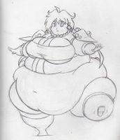 Lina Inverse Fat by Eishiban