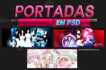 +PORTADAS PSD by iLoveMeRight