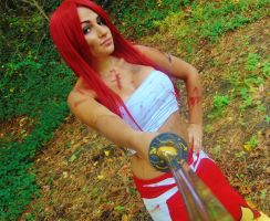 Erza Scarlet by sosupereffective