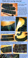 plaid skirt sewing tutorial by mariedark