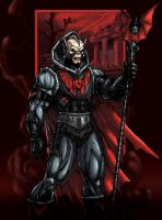 Hordak in color by Kevin-Sharpe
