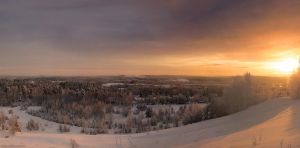 Lahti - south panorama 2 by Tinnunculus