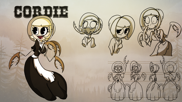 Cordie [Character Sheet] by LiamVickers