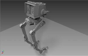 AT-ST by ExoticcTofu