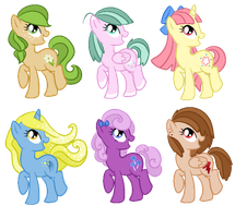 (CLOSED) Free Pony Adopts! by QualityPones
