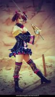 Amy Sorel from soul calibur IV by SakuraFlamme