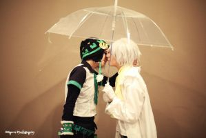 Clear and Noiz - Dramatical Murder 12 by Woshii