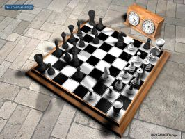 Chess Table by neo74