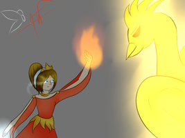 [OC SP] Phoenix's wife ? by Ariane-Wesker