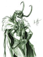 Loki: Smirk by Serrifth