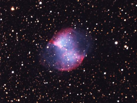 M27, the Dumbbell Nebula by Astronut96