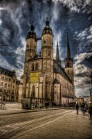 Marienchurch Halle by Ditze