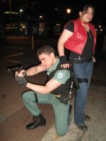 Chris Redfield Claire Redfield by Chris--Redfield