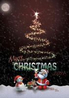 Christmas Card 2011 by Car2nst