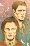 Winchester Bros by MikeOppArt
