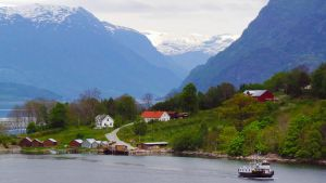Sailing the fjords to Skjolden 62 by abelamario