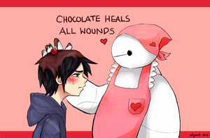 Chocolates for Hiro by behindsmiles