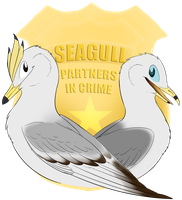 Seagull Partners In Crime by Heichukar