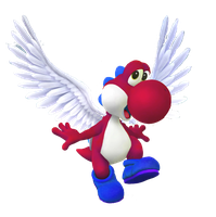 Super Dragon Yoshi artwork by LarxeneElectrian