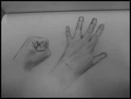 Drawing Hands Attempt by Ilikeyoai25