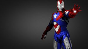 Iron Patriot v2 by 666Darks