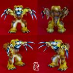 Grrr... Big Cat Series Lion by FullerDesigns
