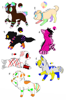 Dog Adoptables by Wolfies--Adopts