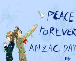 PEACE FOREVER_ANZAC DAY 2012 by Hitomi-Tong