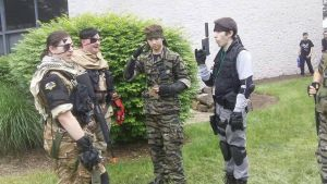 AnimeNext 2014 Metal Gear Solid Photoshoot 1 by demonart2